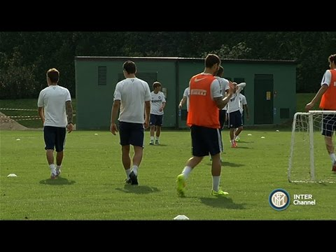 ALLENAMENTO INTER REAL AUDIO 16 10 2014