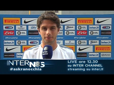 Twitta @inter #AskRanocchia solo su Inter Channel 17.10.2014