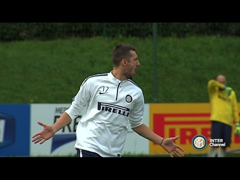 ALLENAMENTI INTER REAL AUDIO - 15 10 2014