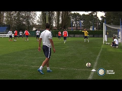 ALLENAMENTO INTER REAL AUDIO 14 10 2014