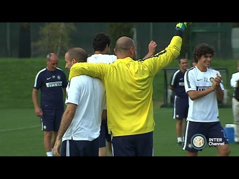 ALLENAMENTO INTER REAL AUDIO 18 10 2014