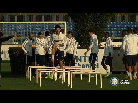 ALLENAMENTO INTER REAL AUDIO 31 10 2014