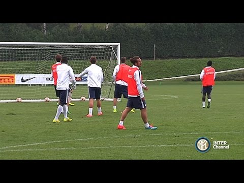 ALLENAMENTO INTER REAL AUDIO 03 11 2014