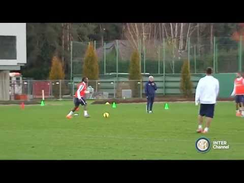 ALLENAMENTO INTER REAL AUDIO 13 11 2014