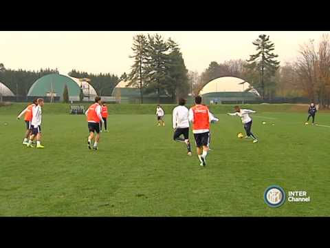ALLENAMENTO INTER REAL AUDIO 14 11 2014