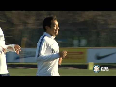 ALLENAMENTO INTER REAL AUDIO 20 11 14