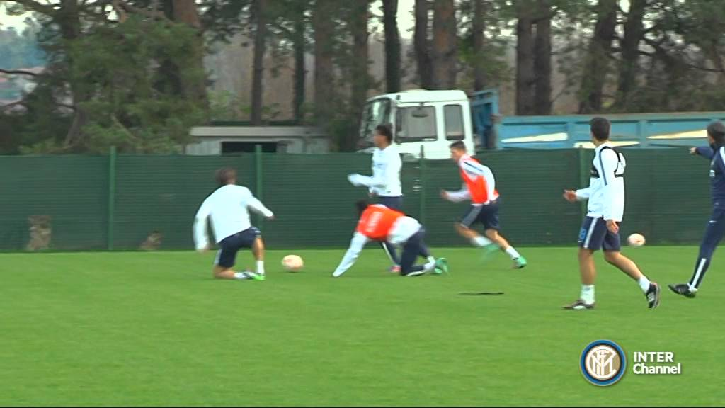 ALLENAMENTO INTER REAL AUDIO 24 11 2014