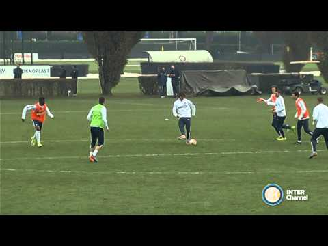 ALLENAMENTO INTER REAL AUDIO 25 11 14