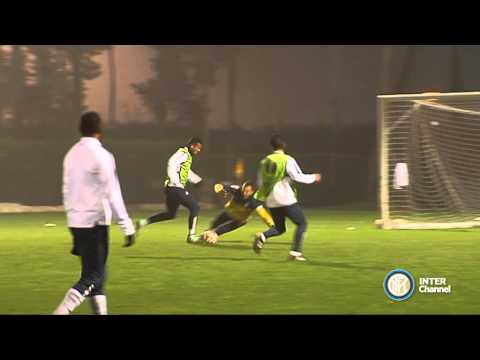 ALLENAMENTO INTER REAL AUDIO 26 11 2014