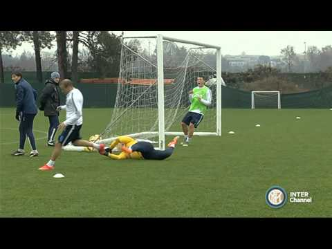 ALLENAMENTO INTER REAL AUDIO 28 11 2014