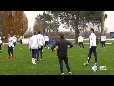 ALLENAMENTO INTER REAL AUDIO 05 12 2014
