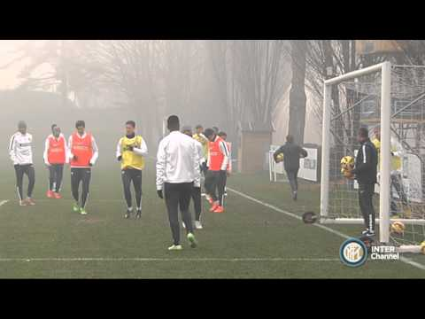 ALLENAMENTO INTER REAL AUDIO 14 12 2014