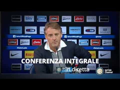 MANCINI PRESENTERA' JUVENTUS - INTER