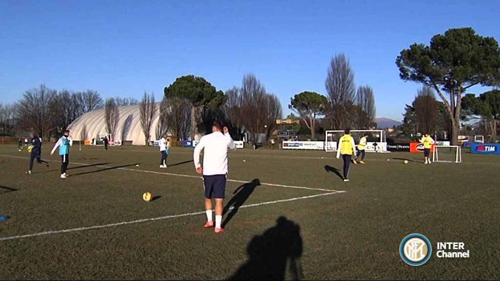 ALLENAMENTO INTER REAL AUDIO 05 01 2015