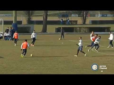 ALLENAMENTI INTER REAL AUDIO 07 01 2015
