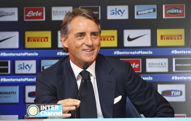 Live! Conferenza stampa Roberto Mancini prima di Inter-Genoa 10.1.2015 h:13:00 CET