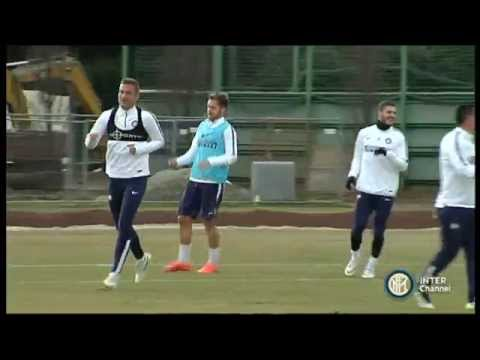 ALLENAMENTO INTER REAL AUDIO 10 01 2015