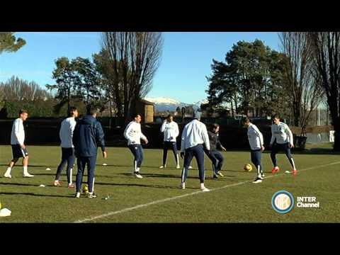 ALLENAMENTO INTER REAL AUDIO 23 01 2015