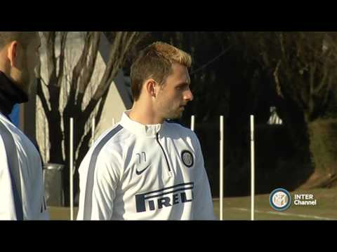 ALLENAMENTO INTER REAL AUDIO 28 01 2015