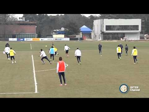 ALLENAMENTO INTER REAL AUDIO 29 01 2015